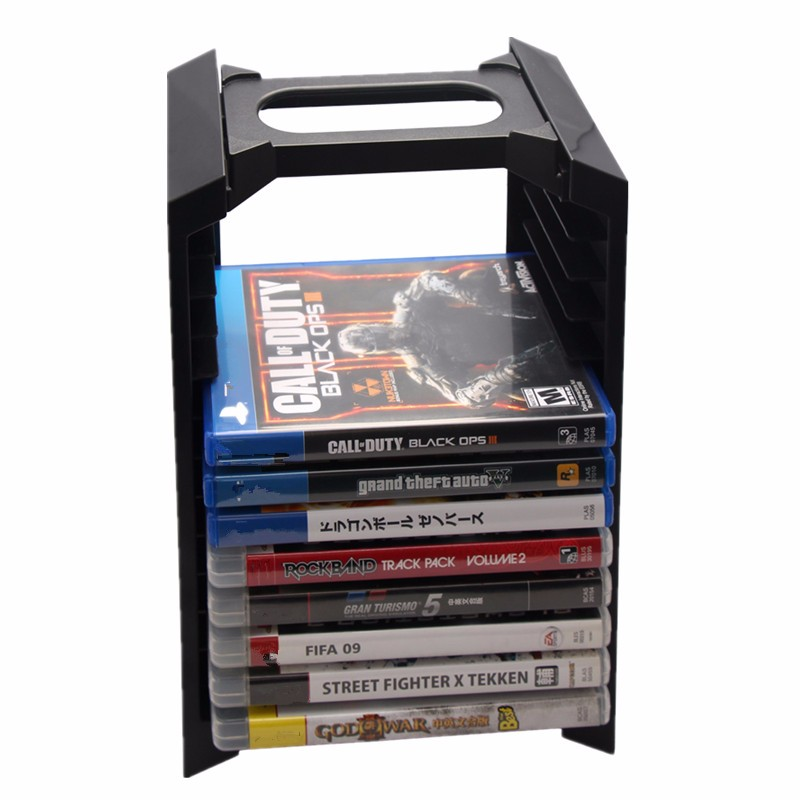 Multifunctional Storage for PS4 Game Controller Host Rack For Play Station 4