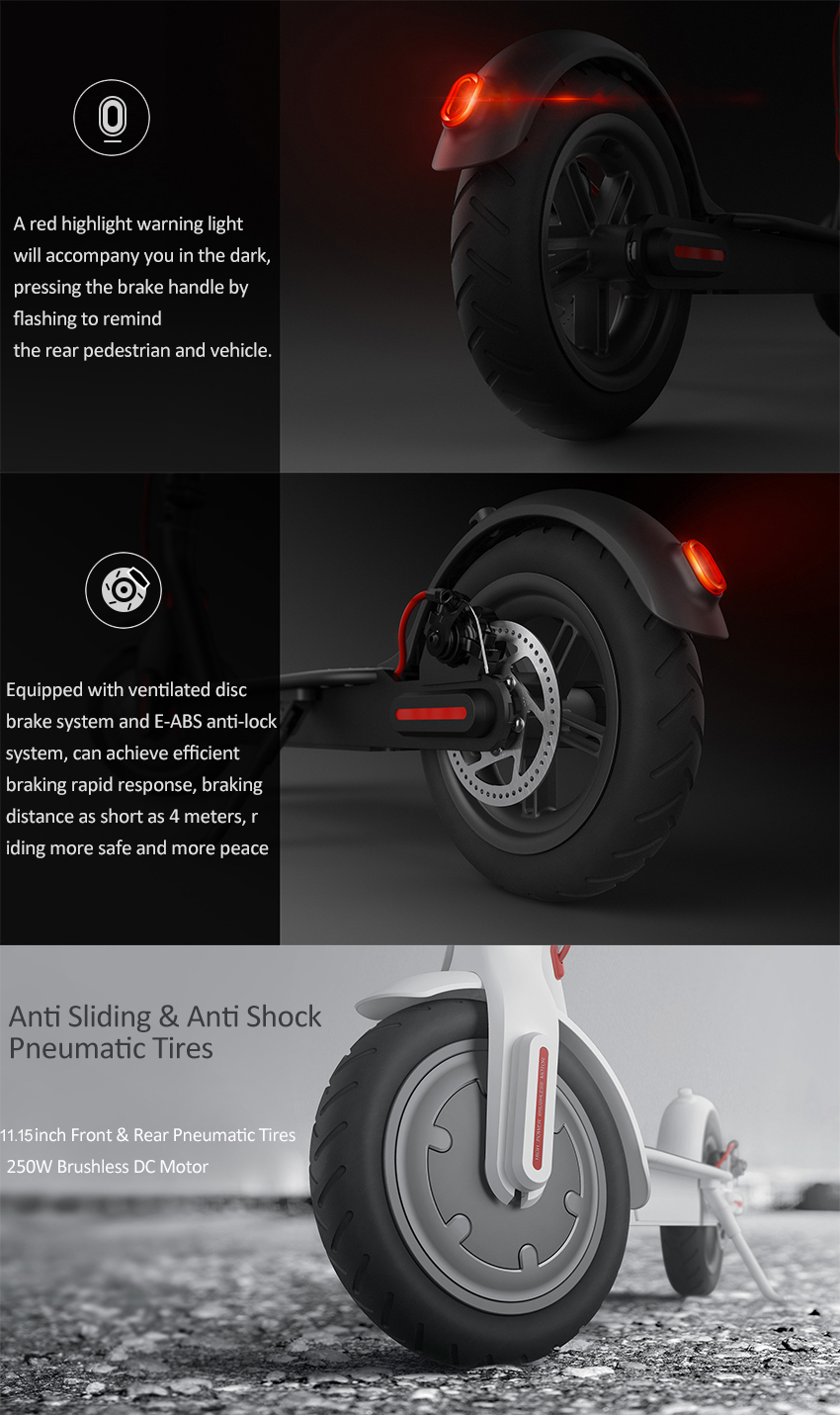 [EU Direct] Xiaomi M365 Folding Electric Scooter Europe Version IP54 12.5kg Ultralight 30km Long Life 25 km/h Max. Load 100kg
