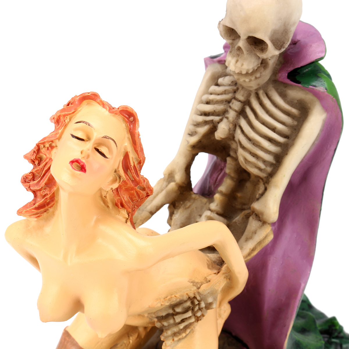 Nude Funny Dracula Lover Skulls Sexy Statues Adult Ceremony Polyresin Action Figure