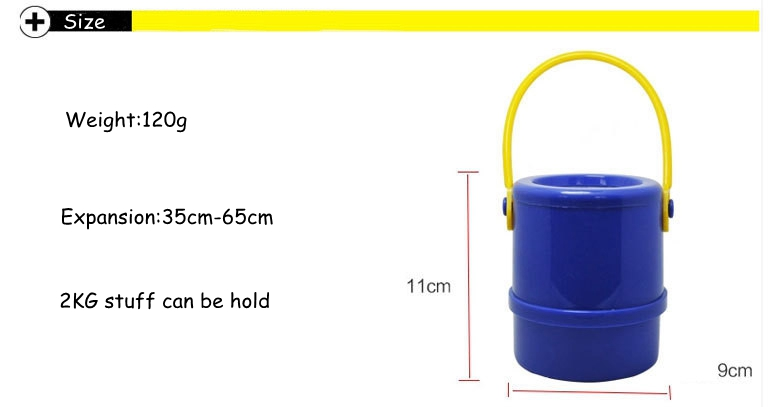 Muti-function Telescopic Umbrella Storage Bucket Trash Can For Car Home Outdoor Activities