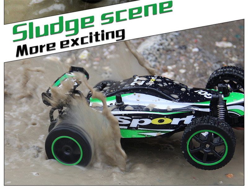 23211 1/20 2.4G 2WD High Speed RC Racing Drift Car Wave Drive Truck Electric Off-Road Vehicle Toys