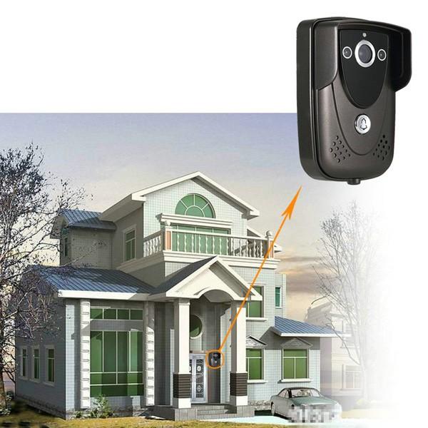 SY905FC11 Video Door Phone Doorbell Intercom Kit 900TVL IR Night Vision Camera 9 Inch TFT Screen Monitor