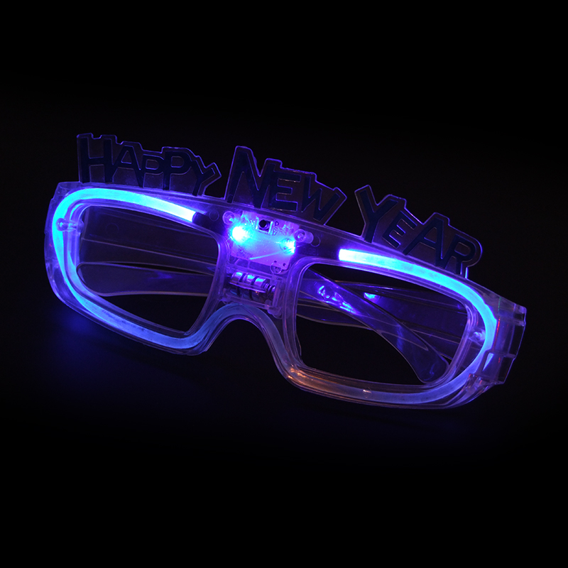 Men's Night Vision Glasses Well-Educated Led Wire Glasses Light Up Glow Sunglasses Eyewear Shades For Nightclub Party Night Vision Glasses