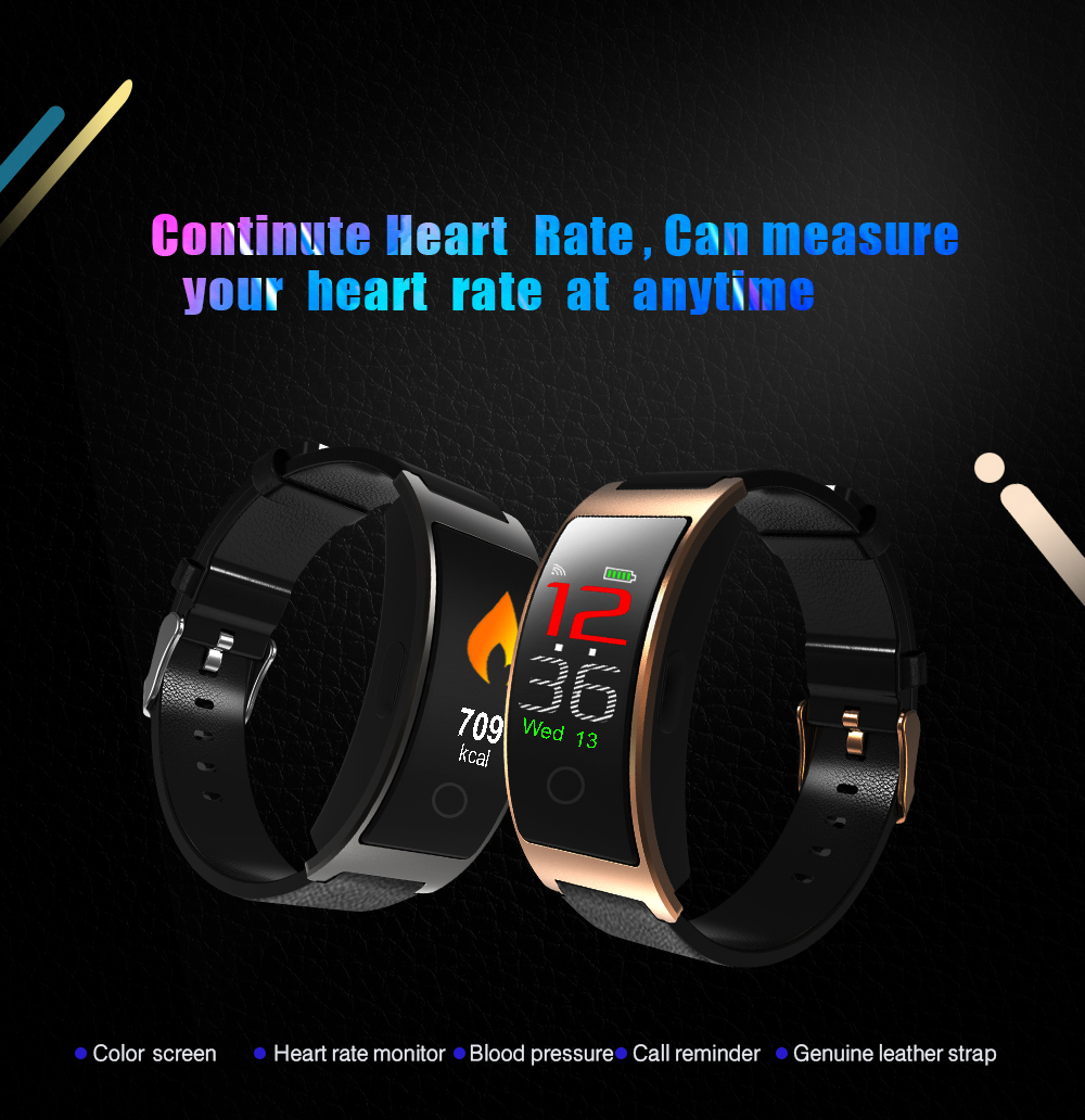 Bakeey CK11C 0.96inch IPS Color Screen Heart Rate Monitor Pedometer Sport bluetooth Smart Bracelet