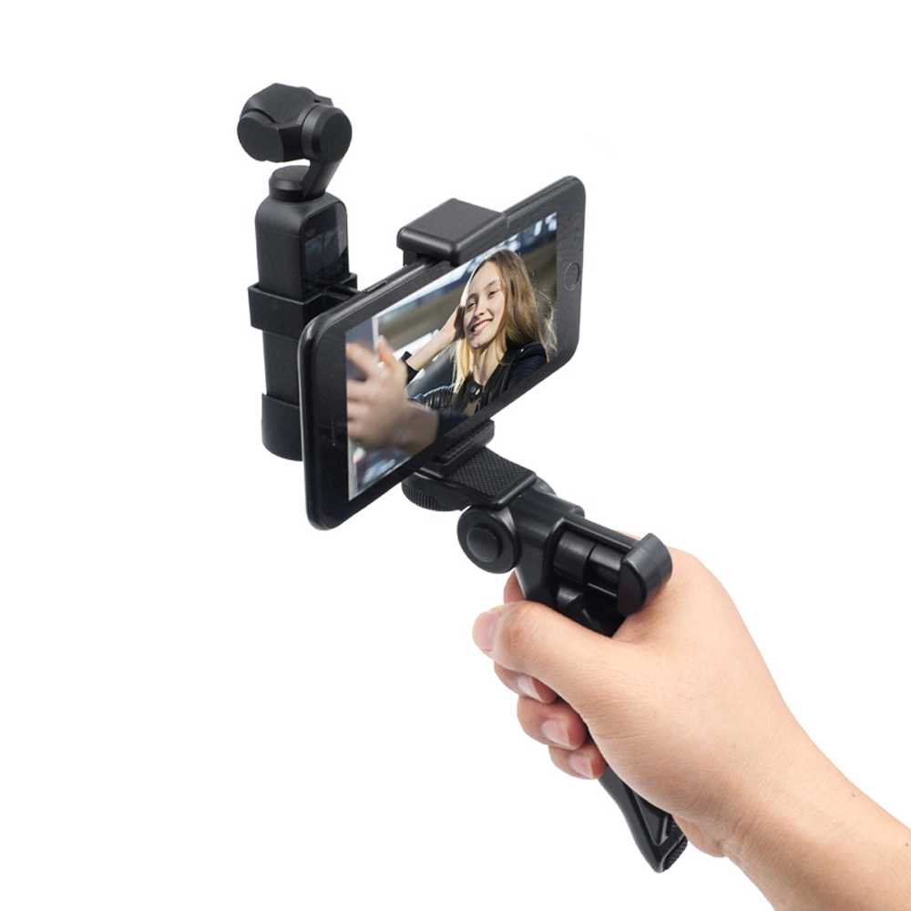 STARTRC Metal Phone Clip Holder With Tripod For DJI OSMO Pocket Handheld FPV Camera - Photo: 4
