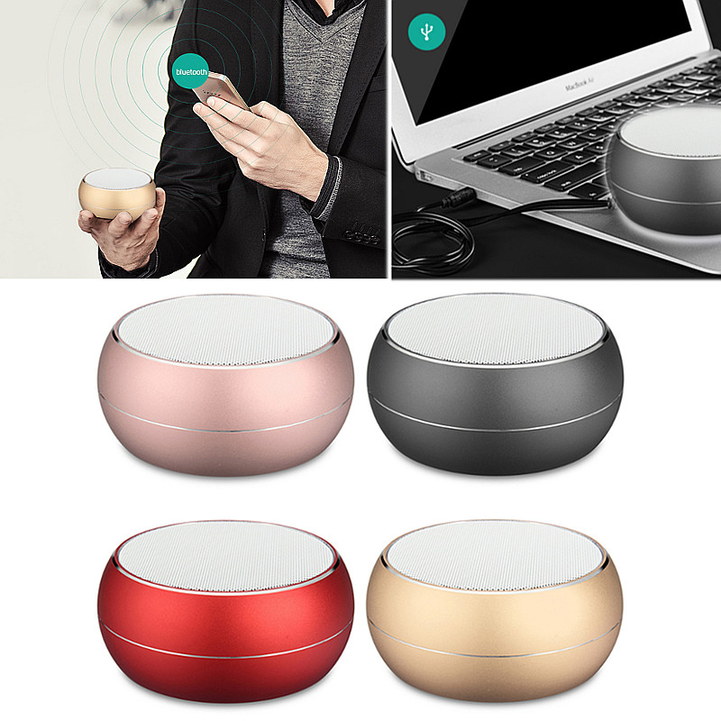 bluetooth Wireless Speaker Mini Super Bass Portable For Smartphone Tablet