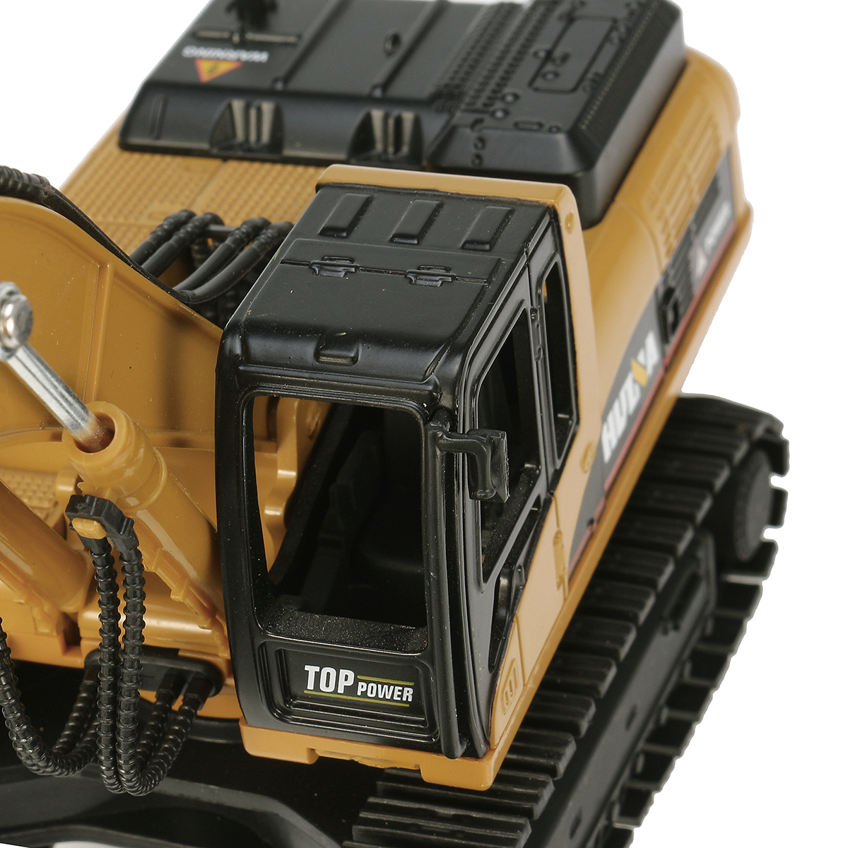 HUINA 7713-1 1/50 Scale Alloy Timber Grab Diecast Model Engineering Digging Toys