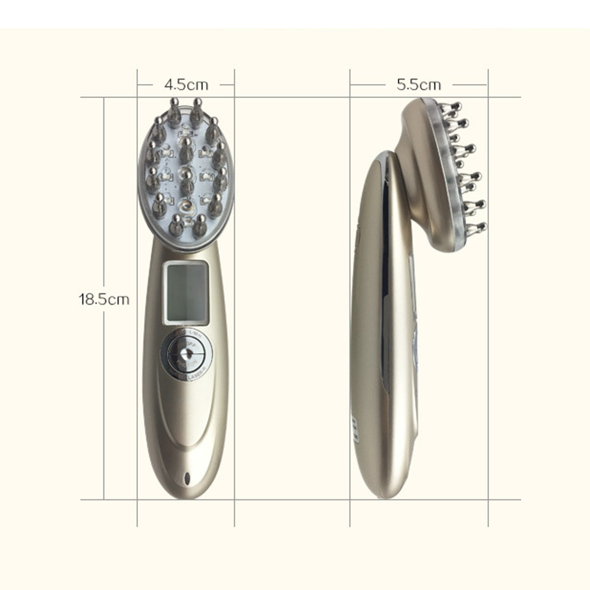 Laser Hair Growth Comb RF EMS Photon Massager Anti Hair Loss