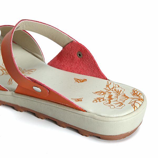 Women Casual Leather Sandals Flat Beach Slippers
