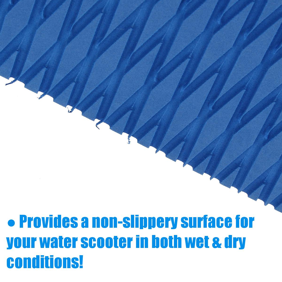 5mm Water Scooter Non-skid Marine Floor EVA Foam Decking Boat Sheet Carpet Blue