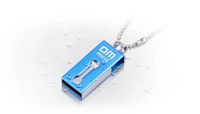 DM PD010 Micro USB USB OTG Flash Drive 16G Pen Drive Portable Metal Waterproof USB Stick