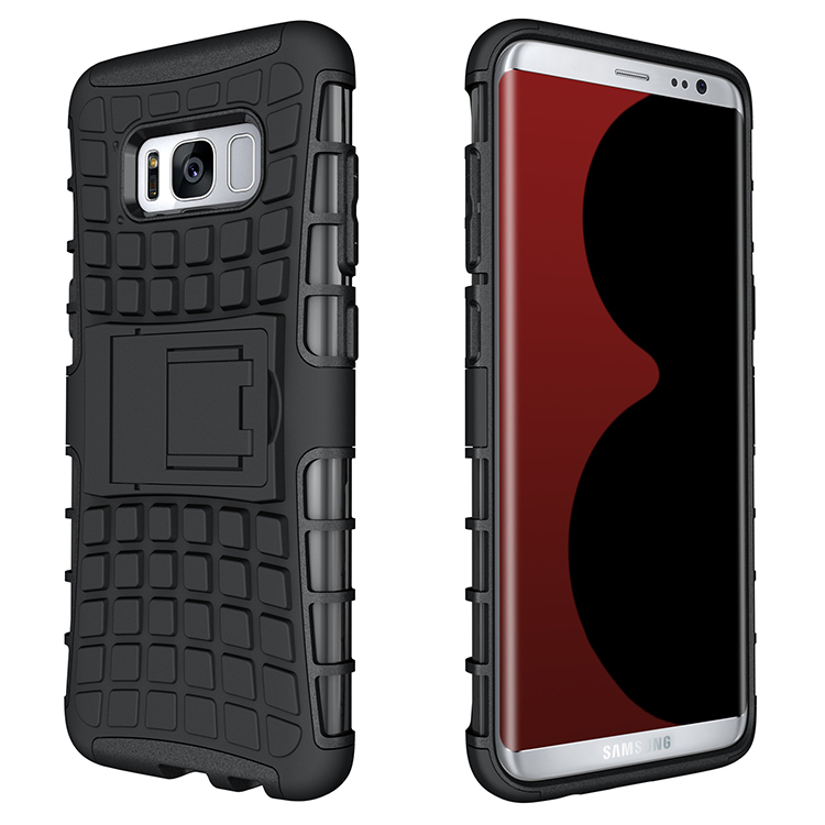 Bakeey 2 in 1 Armor Kickstand TPU + PC Case for Samsung Galaxy S8