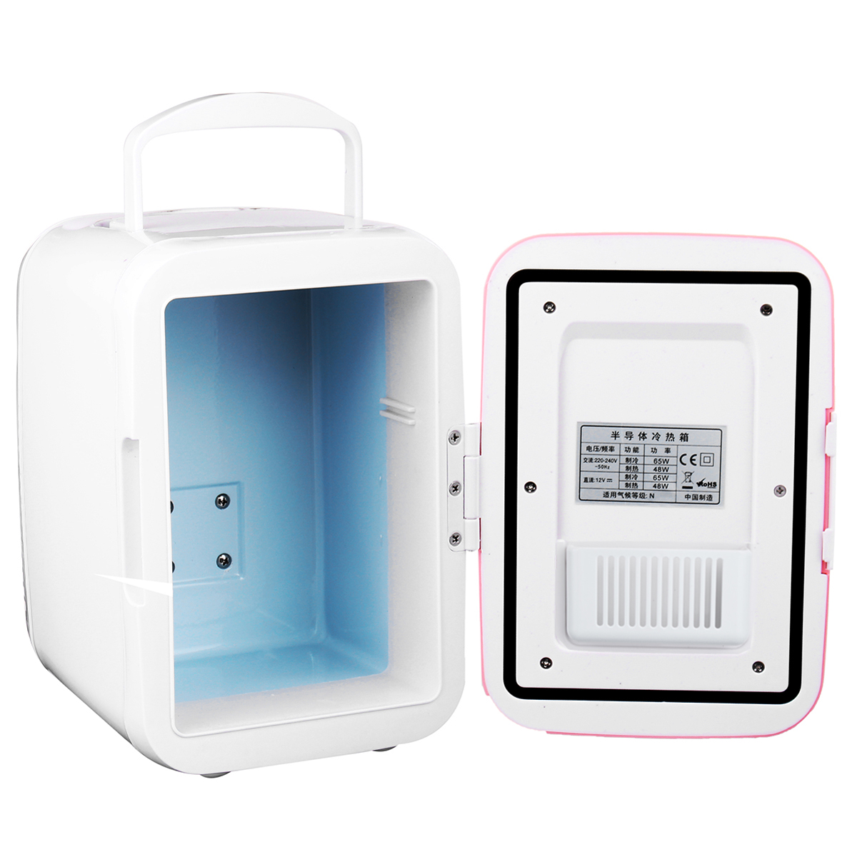 4L Portable Mini Fridge USB Freezer Refrigerator Cooler Warmer Auto Car Travel Outdoor Camping