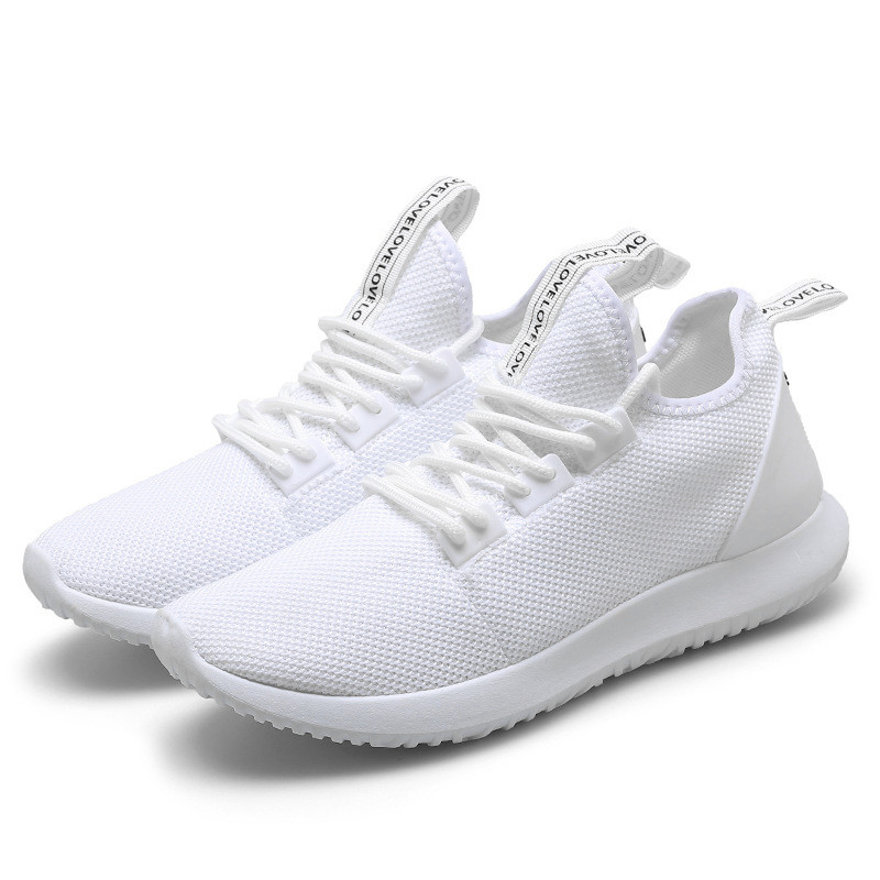 Men's Sports Shoes Breathable Soft Sneakers Running Casual Fashion Shoes