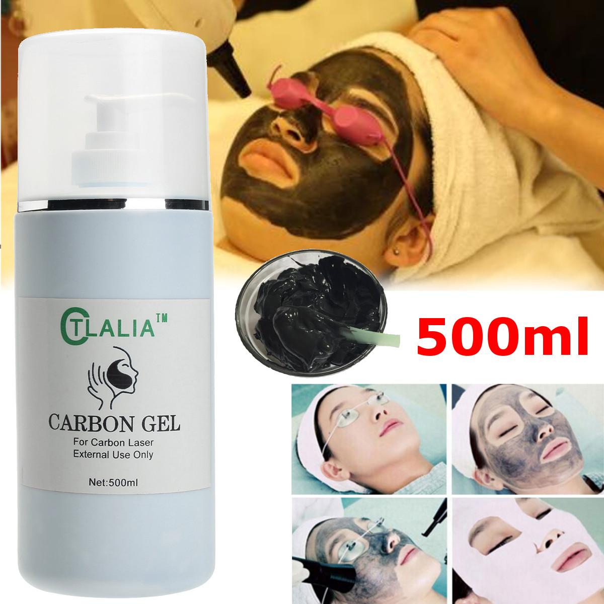 500ml Soft Carbon Black Doll Skin Laser Carbon Gel Cream