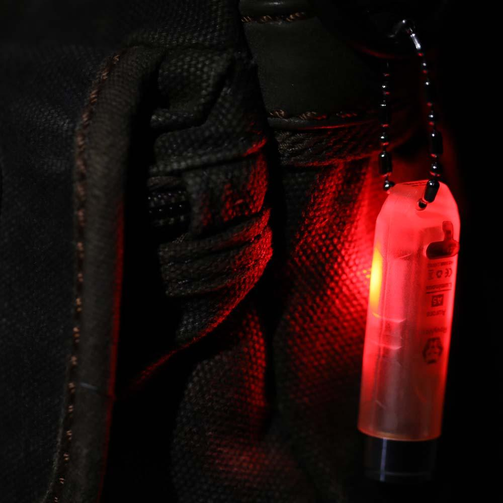 RovyVon Aurora A5 Glowing Signal EDC Flashlight USB Rechargeable Min Keychain Light