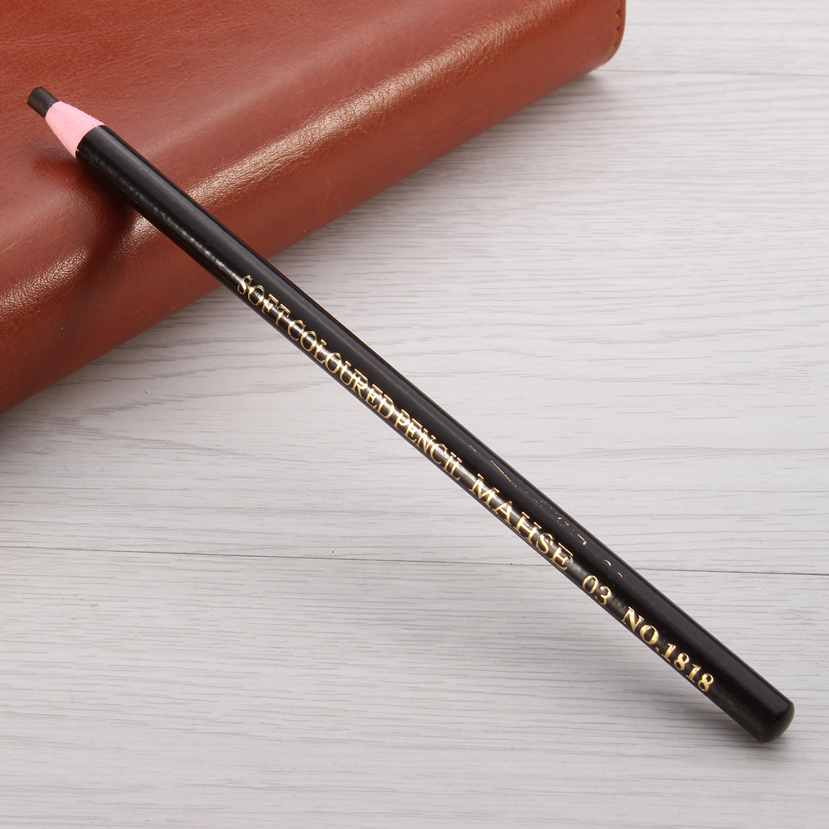 1pc Black Brown Eyebrow Pencil Pen Makeup Cosmetics Long Lasting No Fade