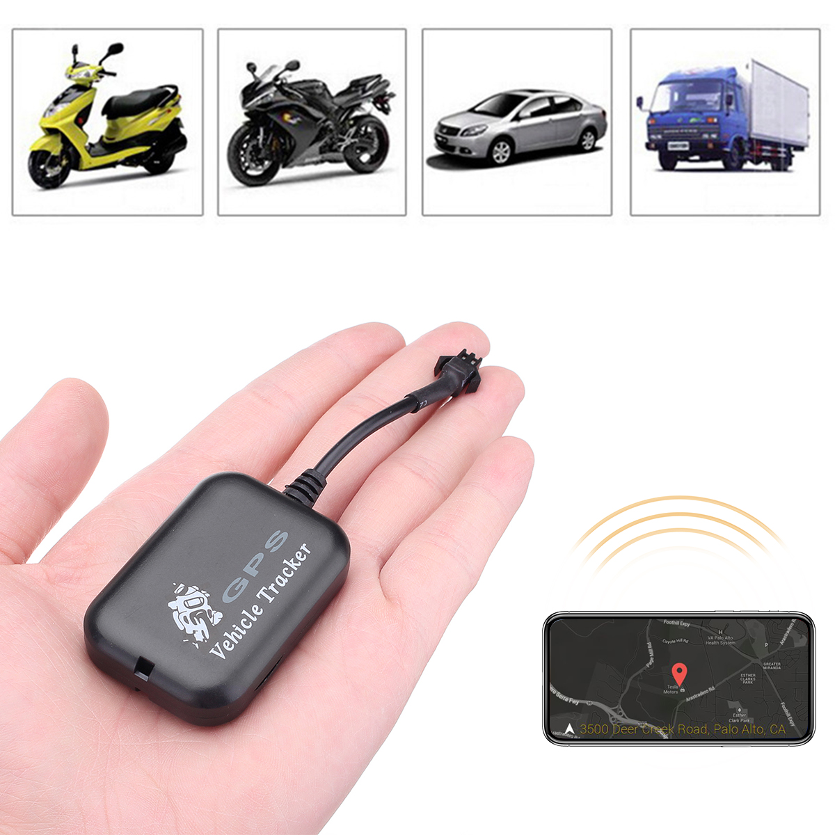 TX-11 Car Motorcycle Mini Hidden GPS Tracker Monitor GPRS GSM Tracking Device