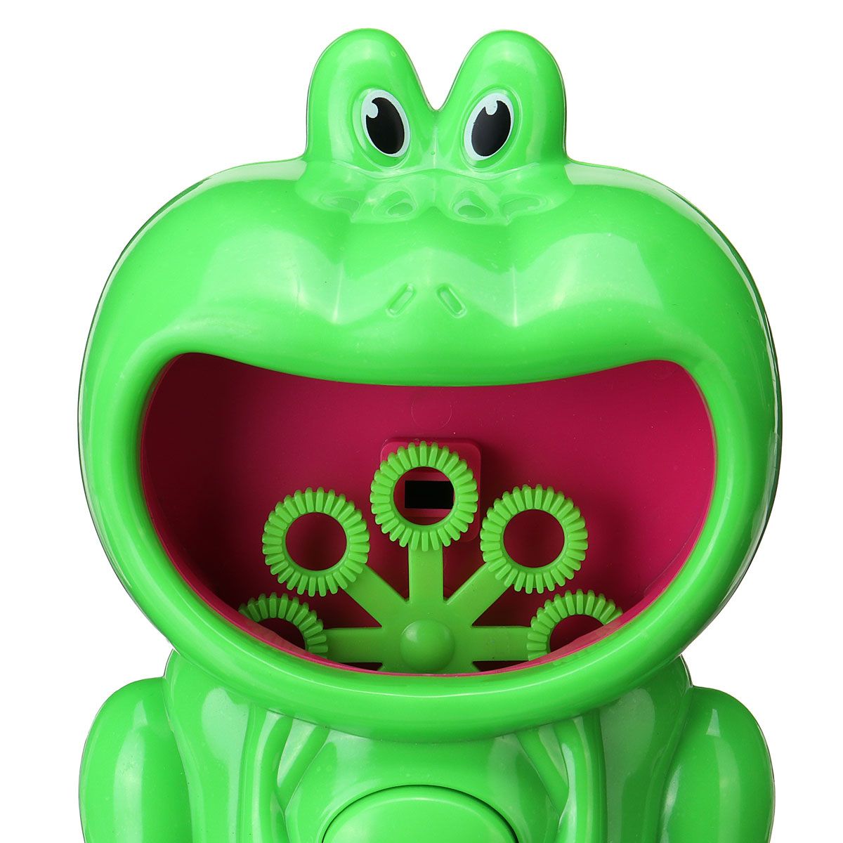 Automatic Electric Bubble Blower Machine Frog Hippo Bath Music Kids Outdoor Toys