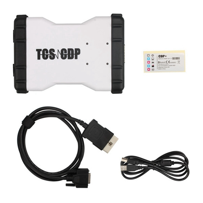 TCS CDP Pro OBD2 Diagnostic Scan Tool without bluetooth