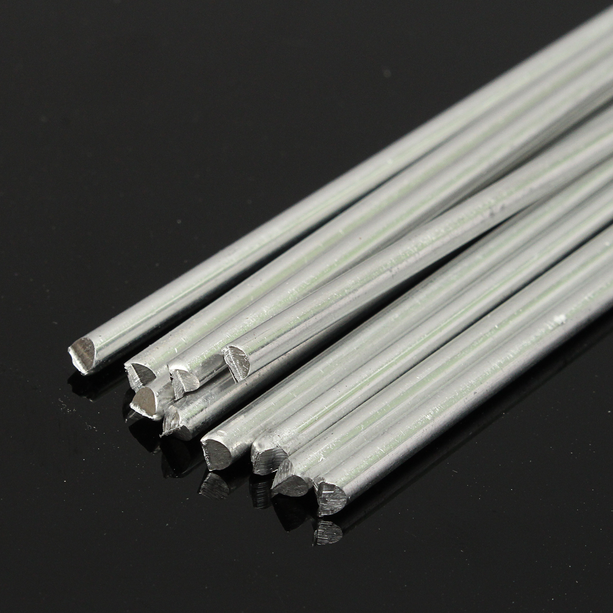 10Pcs Low Temperature Alumaloy Aluminum Repair Rods 3.2mmx230mm Welding Machine Accessories