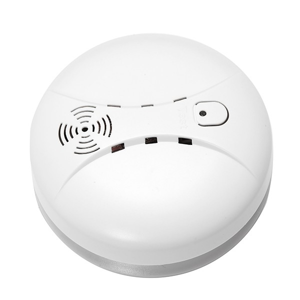 Etiger ES-D5A Wireless Fire/Smoke Sensor/Detector 433mhz Internal Antenna over 70dB Volume Security Alarm System