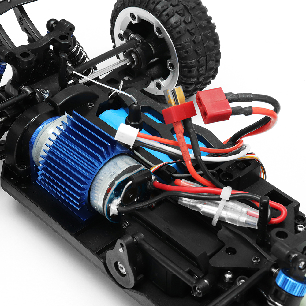 MZ GS1004 1/18 2.4G 4WD 390 Brushed Rc Car 55km/h High Speed Drift Buggy Off-road Truck RTR Toy - Photo: 11