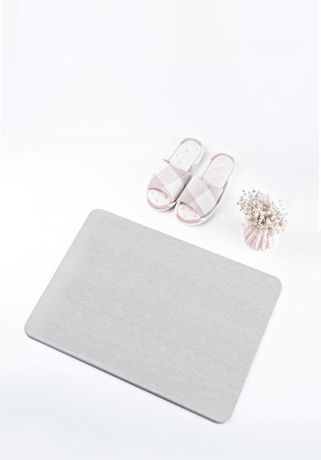 Xiaomi LIKESAME Diatomite Quick-drying Bathroom Mats Rectangular & Cloud Shape Rugs Quick-drying Water Easy to Clean Minimalist Design Carpet