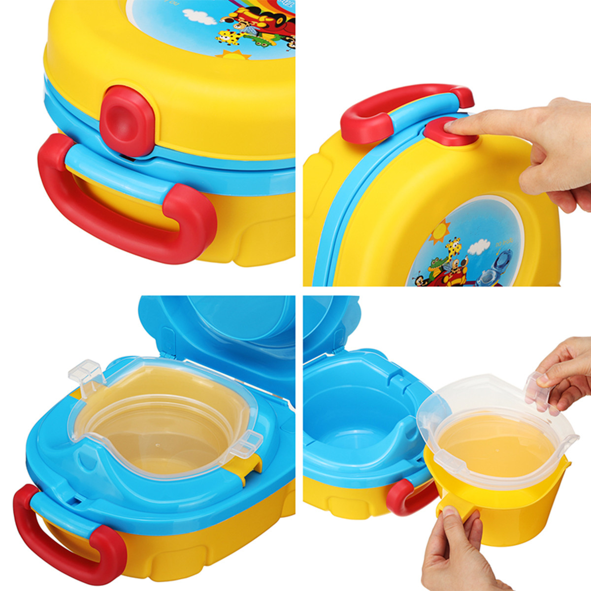 Children's Toilet Camping Travel Baby Potty Toilet Portable Baby Seat Chair