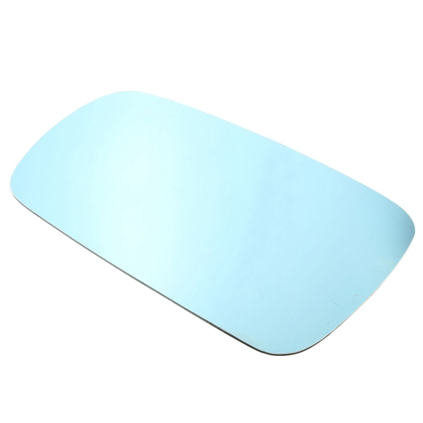 Car Left Passenger Side Blue Heated Electric Wing Mirror Glass For VW Golf MK4 1996-2004