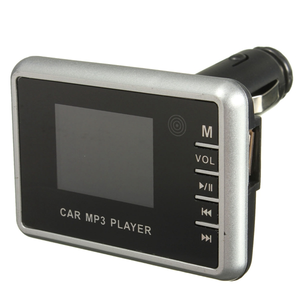 Car MP3 Player FM Transmitter Modulator Wireless LCD USB TF SD Card Remote Control