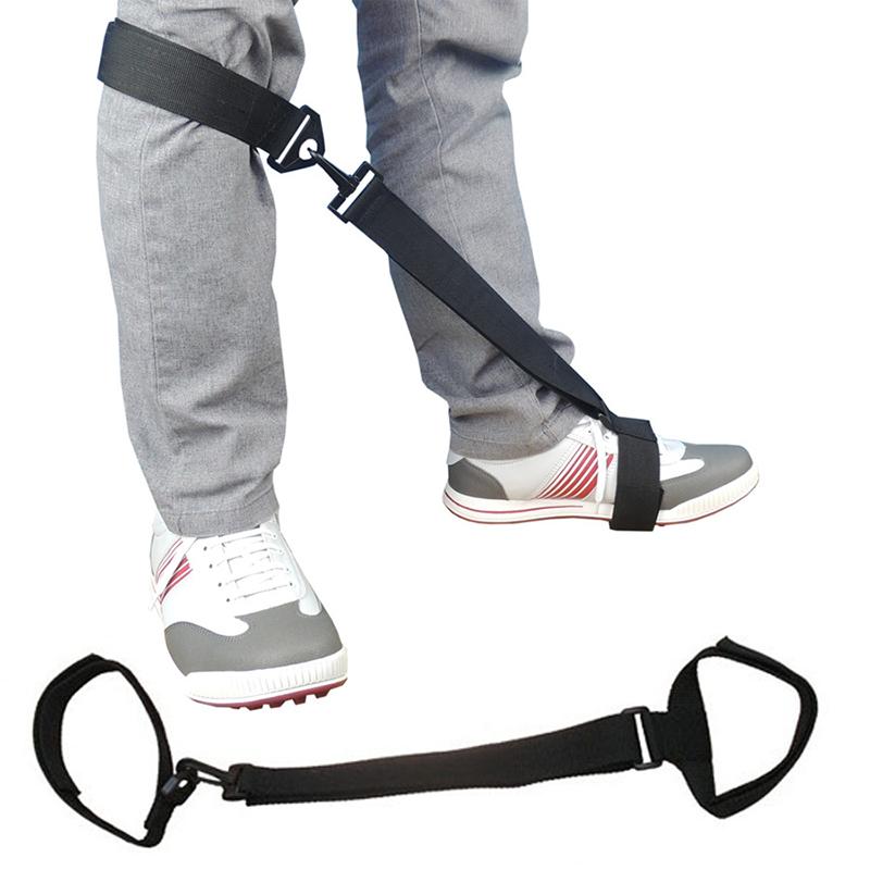 Nylon Outdoor Golf Leg Training Belt Arm Posture Motion Correction Aids Beginner Swine Training Equipment
