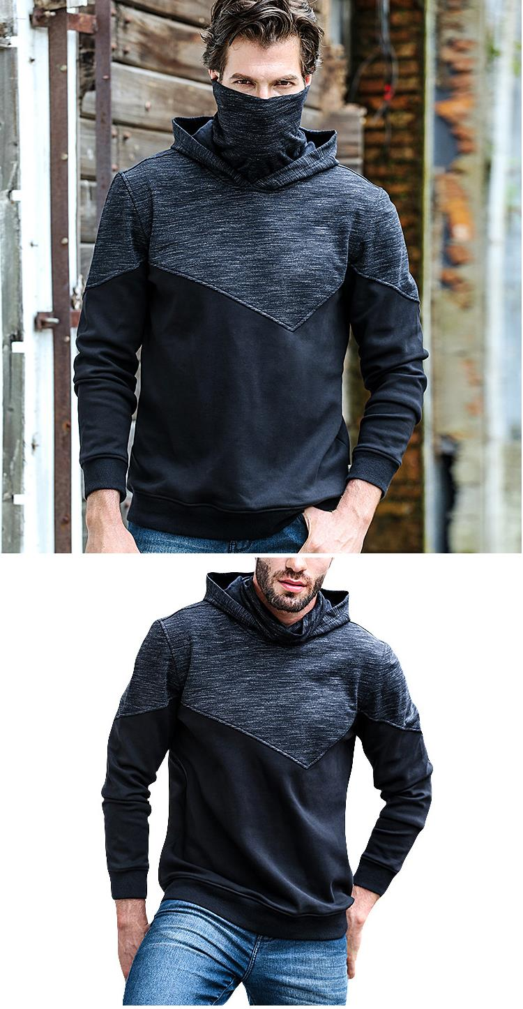 JOZSI Leisure Hooded Cashmere Sports Hoodies Sweatshirts