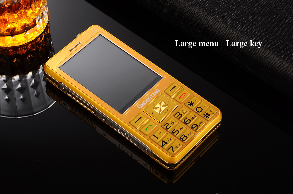 DBEIF A 5800mAh Antenna Analog TV 3.0 Inch Touch Screen Vibration FM Dual Sim Feature Phone