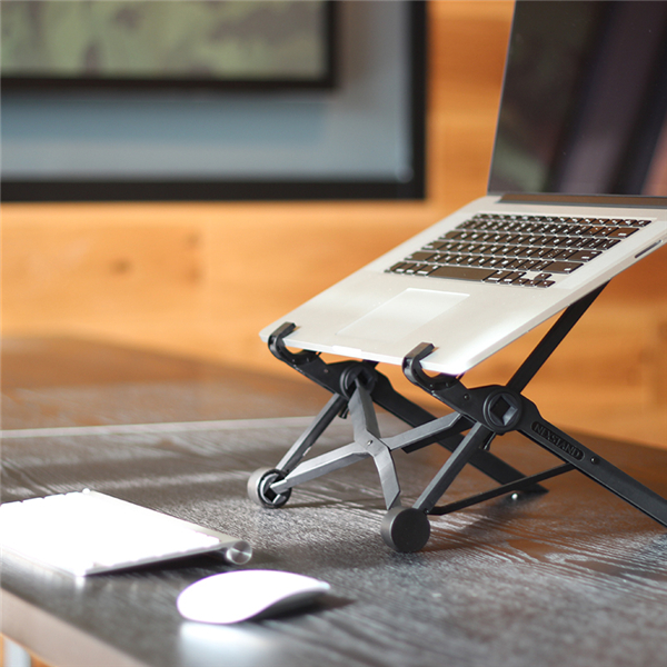 NEXSTAND K2 Laptop Stand Portable Adjustable Eye-Level Ergonomic for Apple MacBook PC Laptop