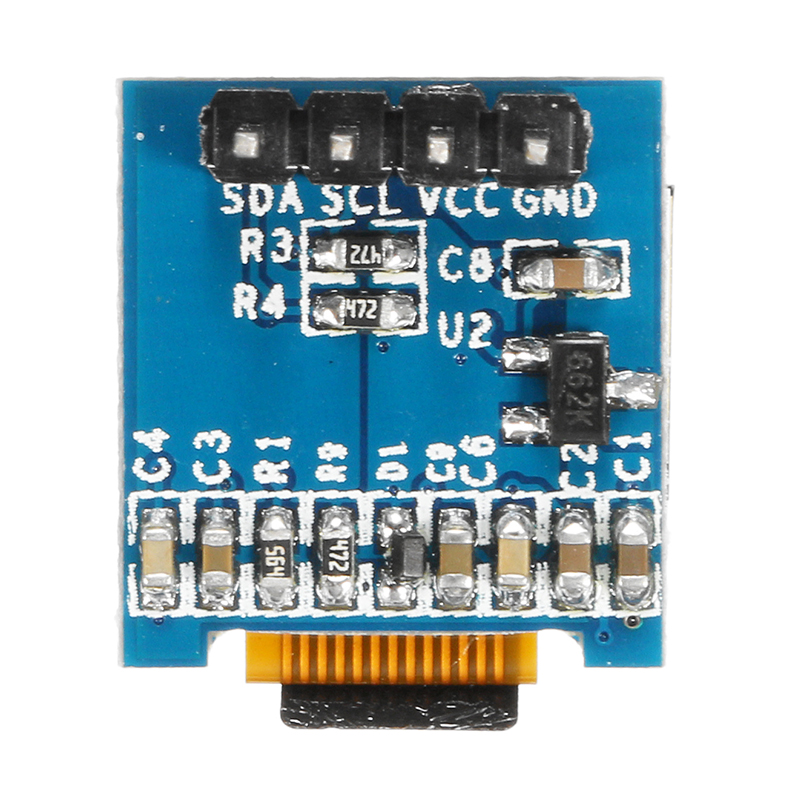 0.49 Inch OLED Display Module 64x32 Screen I2C IIC SSD1306 Super Bright For Arduino AVR STM32
