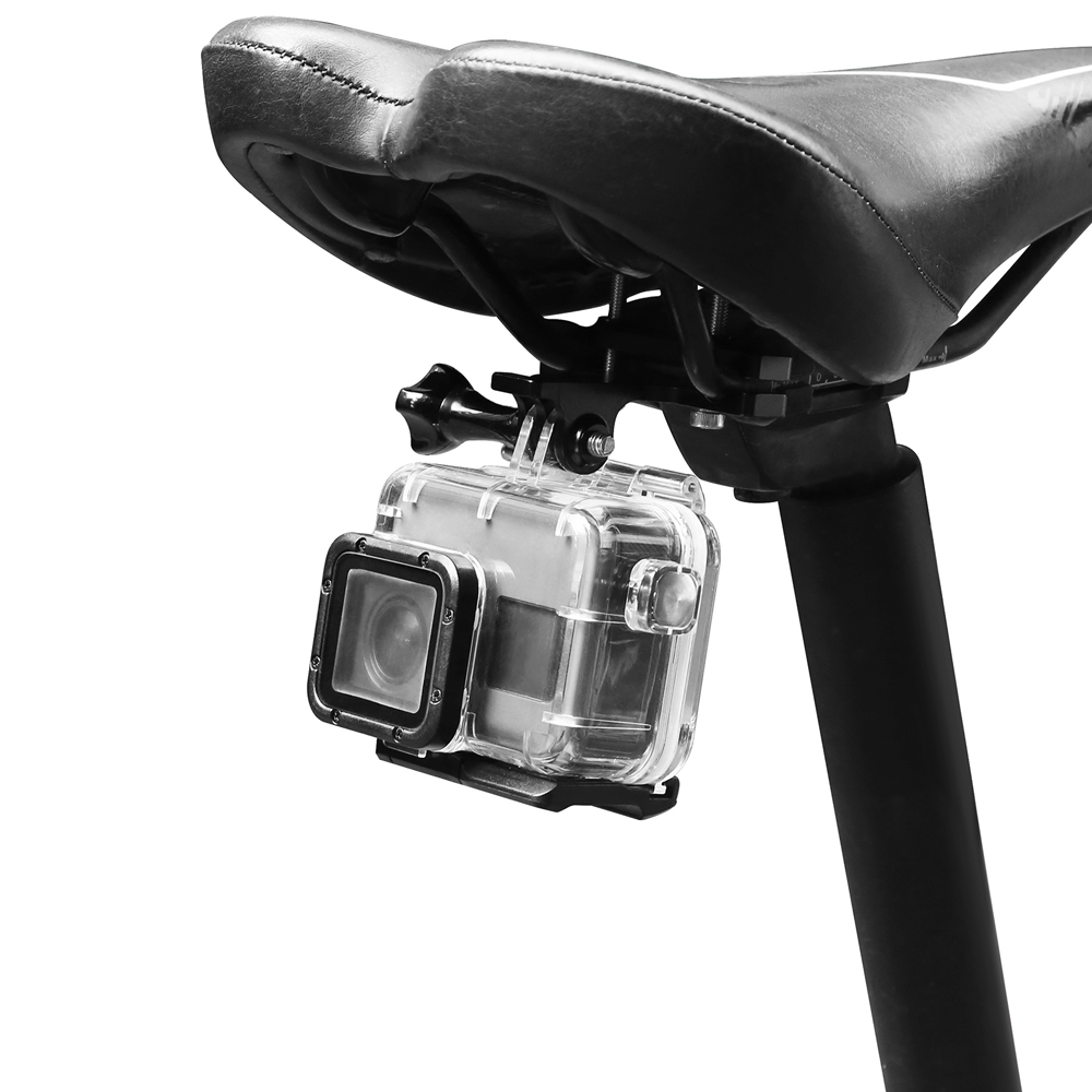 Bicycle Seat Cushion Clip For GoPro Hero 7/6/5/4 SJCAM XiaoYi 4K FPV Action Camera