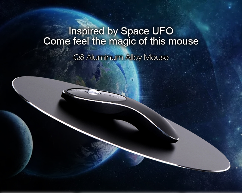 Q8 2.4G 1600dpi Wireless Rechargeable Silent Mouse USB Optical Ergonomic Mouse Mini Mouse Mice