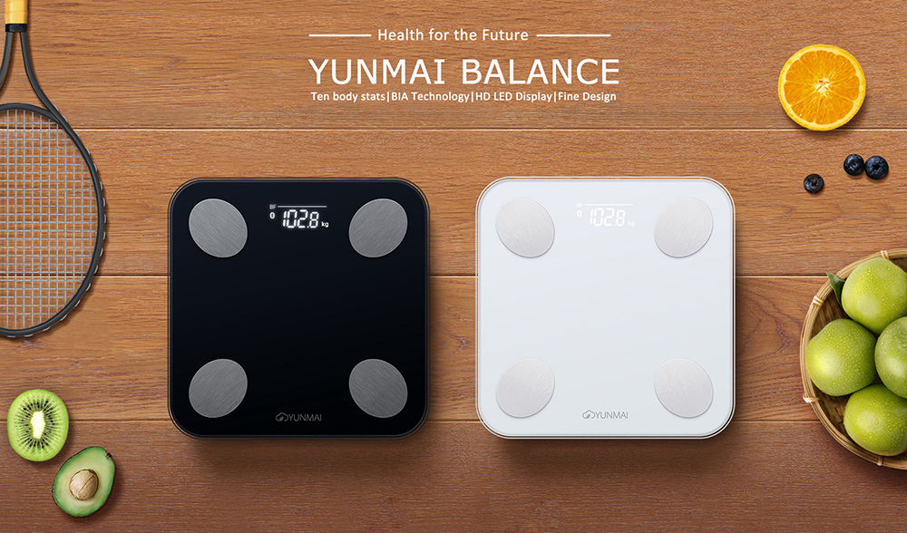 YUNMAI Mini 2 Smart Body Fat Scale bluetooth Digital Weight