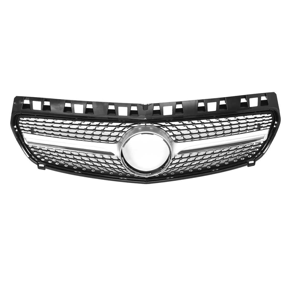 Front Grille Grill For Mercedes Benz W176 A Class Black Diamond Design 2013-15