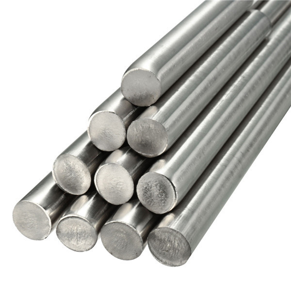 8mm Diameter Stainless Steel Round Bar Rod 125 to 500mm Length Metal Rod