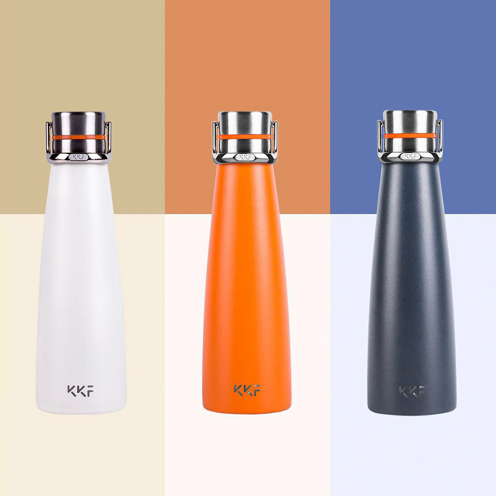 XIAOMI KISSKISSFISH SU-47WS 475M Vacuum Thermos Water Bottle Thermos Cup Portable Water Bottles