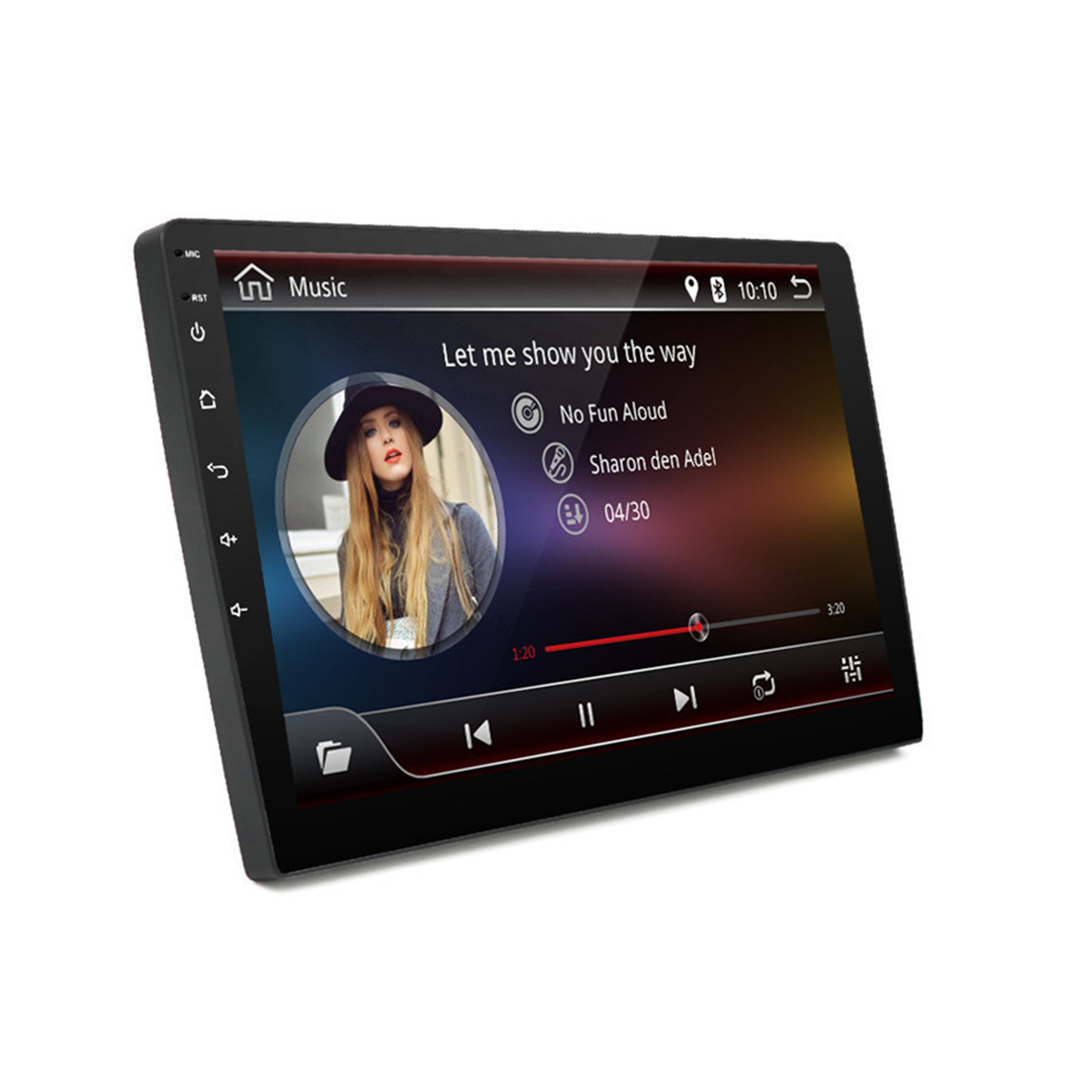 10.1 Inch 2DIN Android 8.1 WIFI DAB GPS 1+16G Android Car MP5 Player