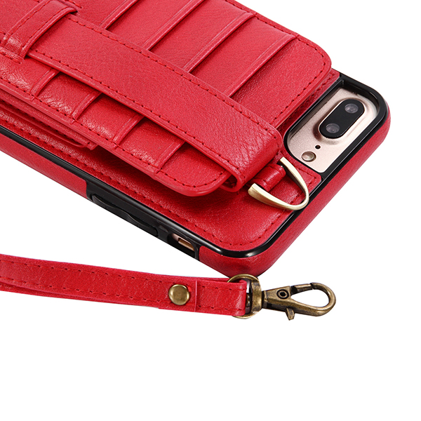 Genuine Leather Multifunctional iPhone6/6s/6 plus/6s plus/7/7 plus Case Wallet Card Holder Phone Bag