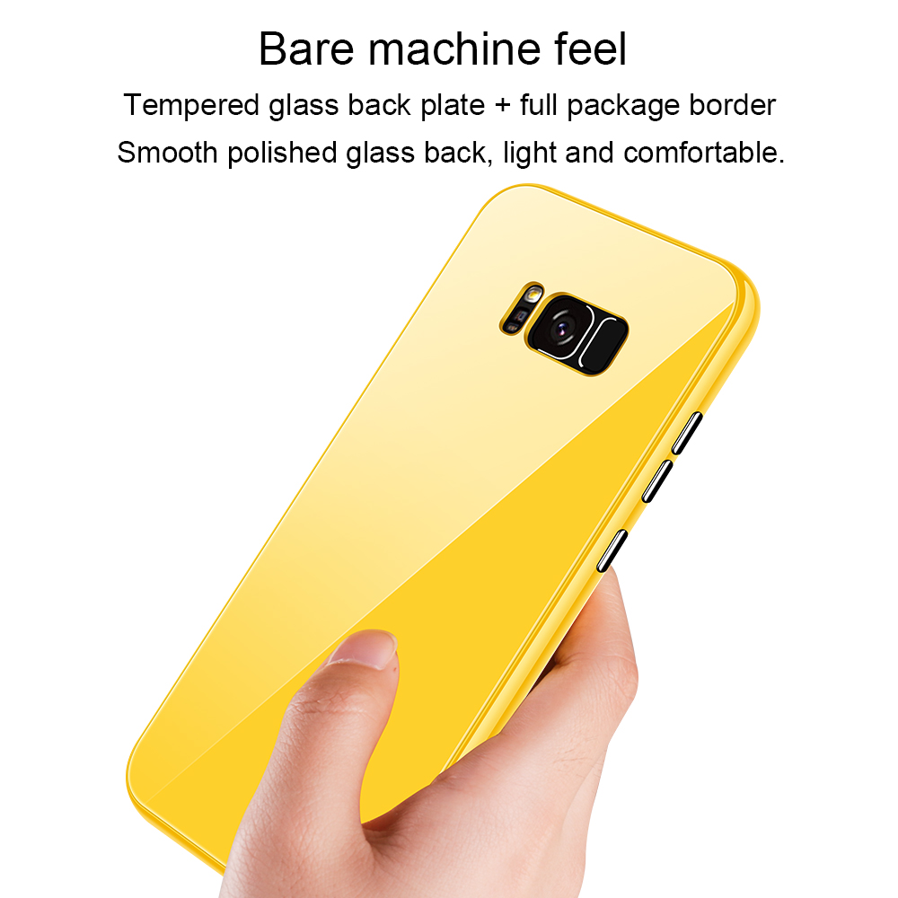 Bakeey Plating Magnetic Adsorption Full Body PC Protective Case for Samsung Galaxy S8/S8 Plus