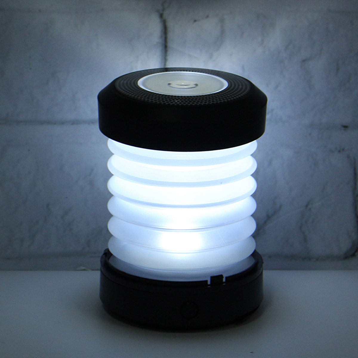 Collapsible Camping LED Lantern Hiking Emergency Night Light Lamp Battery Powered