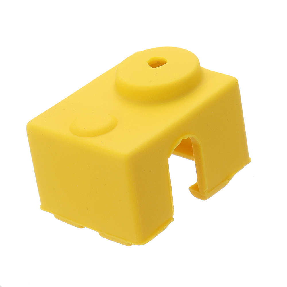 10pcs Yellow Universal Hotend Block Insulation Sock Silicone Case For 3D Printer