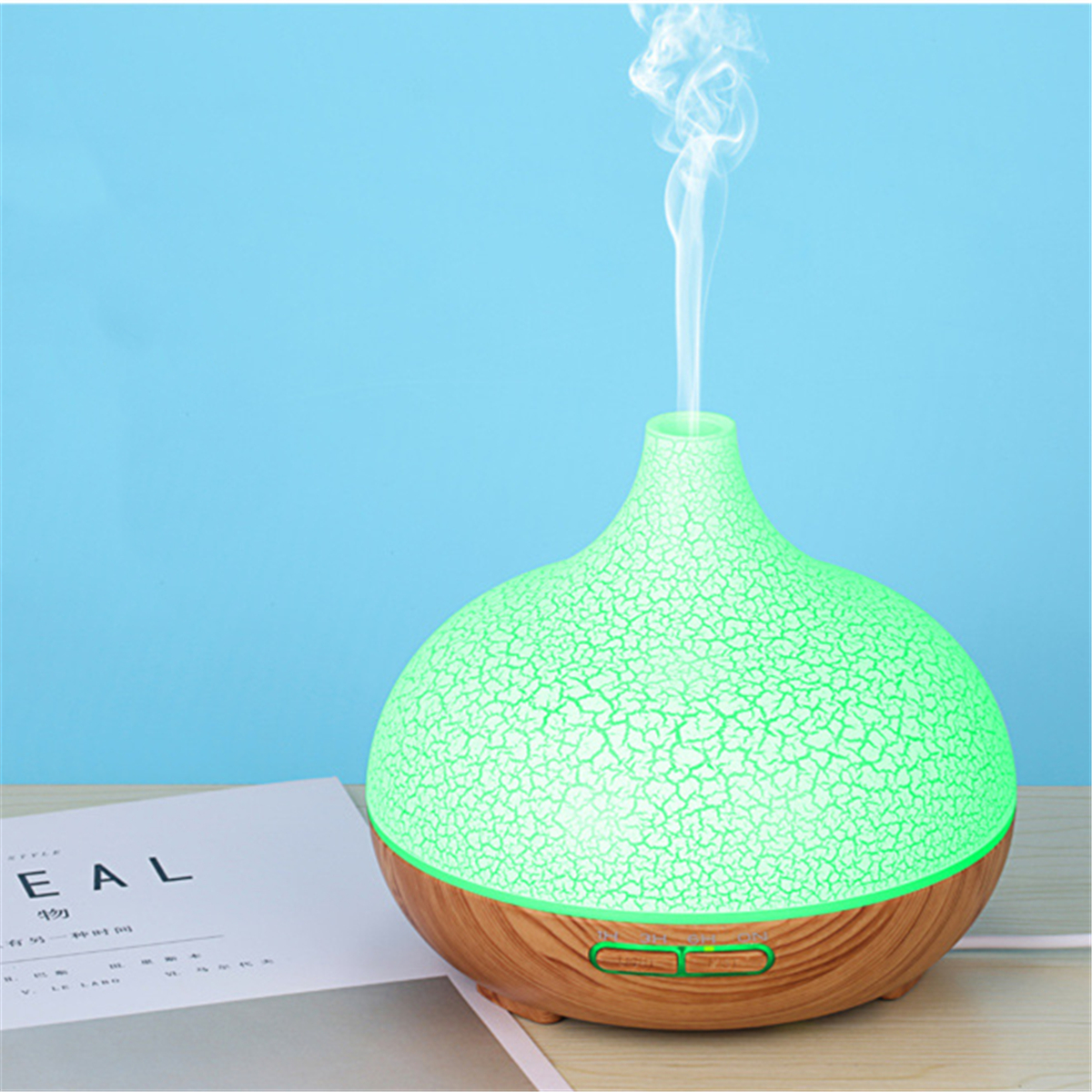 7 LED Aromatherapy Essential Oil Diffuser Air Humidifier