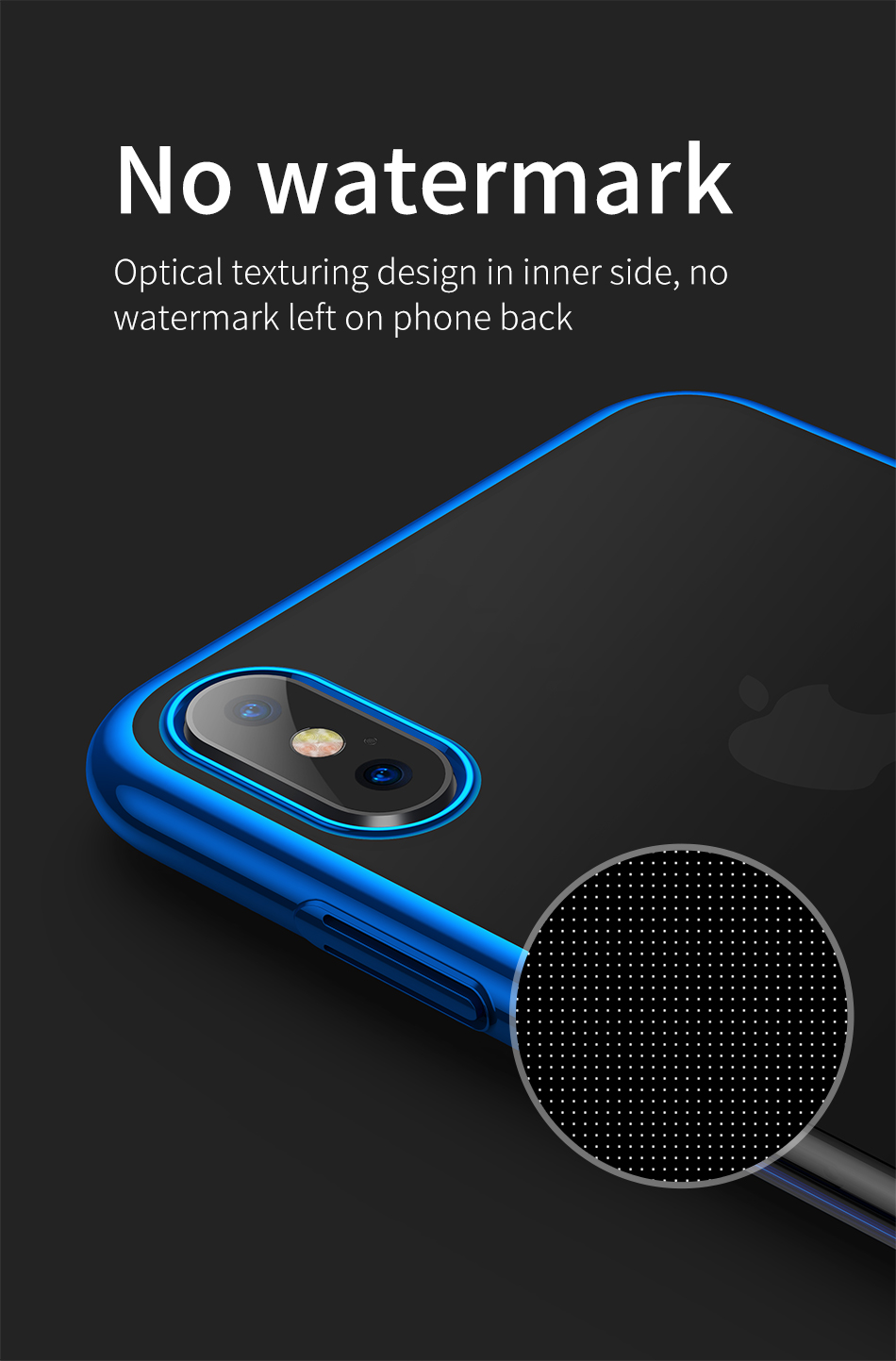 Baseus Clear Plating Anti-yellowing Hard PC Protective Case For iPhone XR 6.1