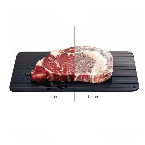 345 x 200 x 2.6mm Fast Defrosting Tray Defrost Meat Frozen Food Thaw Frozen Food In Minutes